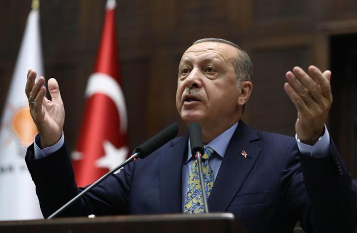 أردوغان نرفض محاولة واشنطن إنشاء منطقة آمنة لمصحلة وحدات حماية الشعب