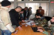 500 شاب من نوى في درعا يلتحقون بالجيش السوري بعد التسوية