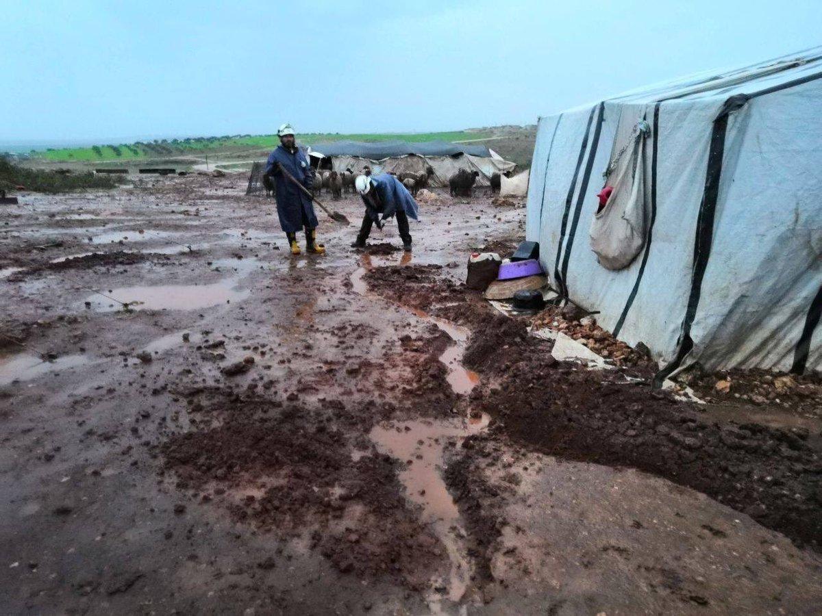 الأمم المتحدة: أكثر من 3 ملايين شخص في سوريا بحاجة إلى مساعدات للوقاية من برد الشتاء
