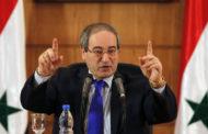 مصدر من الحكومة السورية يتوقع أن يستلم المقداد منصب وزارة الخارجية
