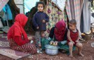 إصابة العشرات بأمراض جلدية في مخيمات بإدلب جراء ارتفاع الحرارة وشح المياه