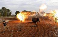 قصف متبادل بين القوات الحكومية والفصائل بجبل الزاوية والطيران الروسي يكثف من طلعاته