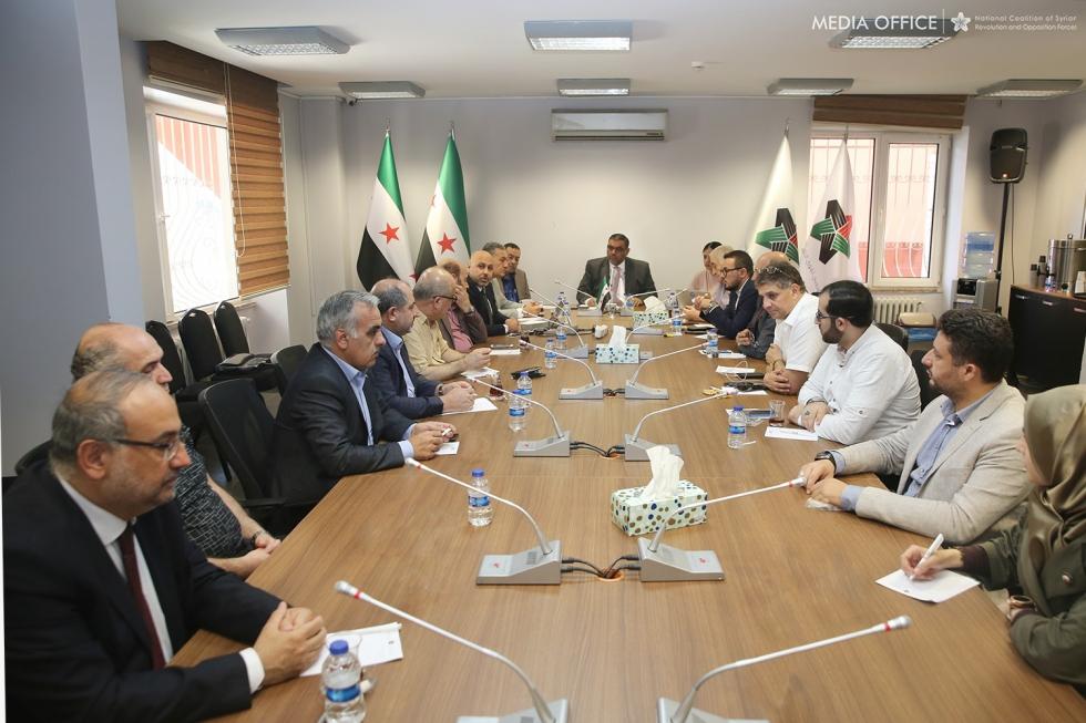 الائتلاف السوري يدعم العملية التركية في شمال سوريا