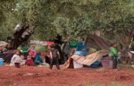 الامم المتحدة تقول ان 700 الف شخص نزحوا خلال الأشهر الثمانية الماضية.. وترسل مساعدة انسانية لإدلب عبر تركيا