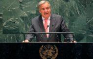 غوتيريش: نحن بعيدون عن وجود حزمة عالمية لمساعدة الدول النامية للقضاء على