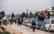 فريق الاستجابة: نزوح 395 الف شخص خلال شهرين من مناطق الصراع في ادلب