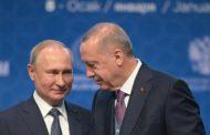 بوتين وأردوغان يدعوان لهدنة في ليبيا اعتبارا من السبت.. ويدشنان مشروع السيل التركي