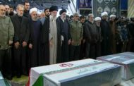 إيران تُشيّع جنرالها.. وتَعِد بتقليص التزاماتها بالاتفاق النووي