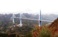 في تحد جديد , أطول و أعلى جسر في العالم مع بداية عام 2020 في الصين...