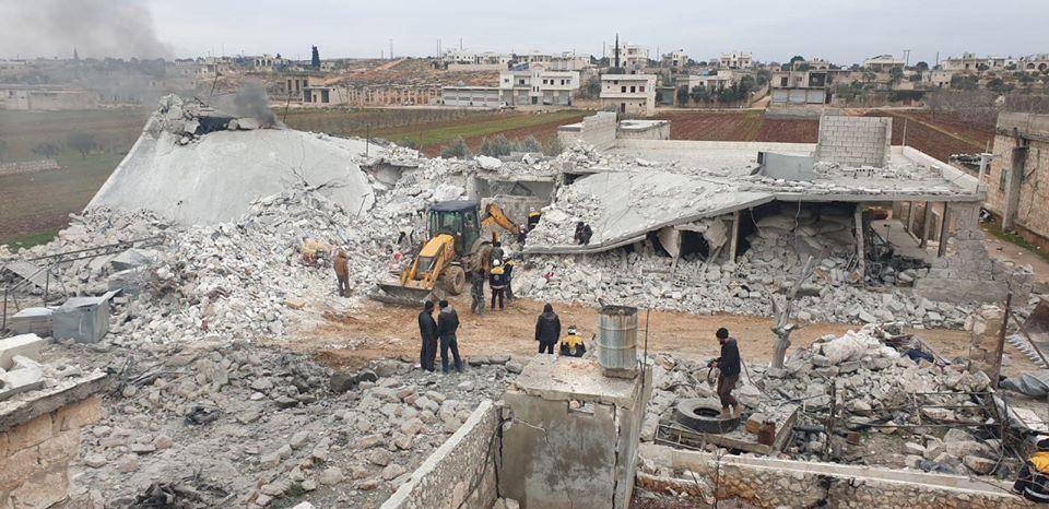 نزوج اكثر من 36 الف شخص خلال الـ 48 ساعة الماضية.. ومقتل اربع مدنيين بريف حلب الغربي