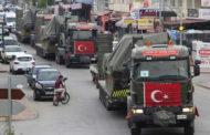 الجيش التركي يدخل رتل عسكري جديد إلى منطقة خفض التصعيد في إدلب