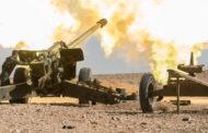 الجيش السوري والفصائل المسلحة يتبادلان القصف المدفعي بريف ادلب.. والجيش التركي يدخل رتل مؤلف من 25 الية عسكرية