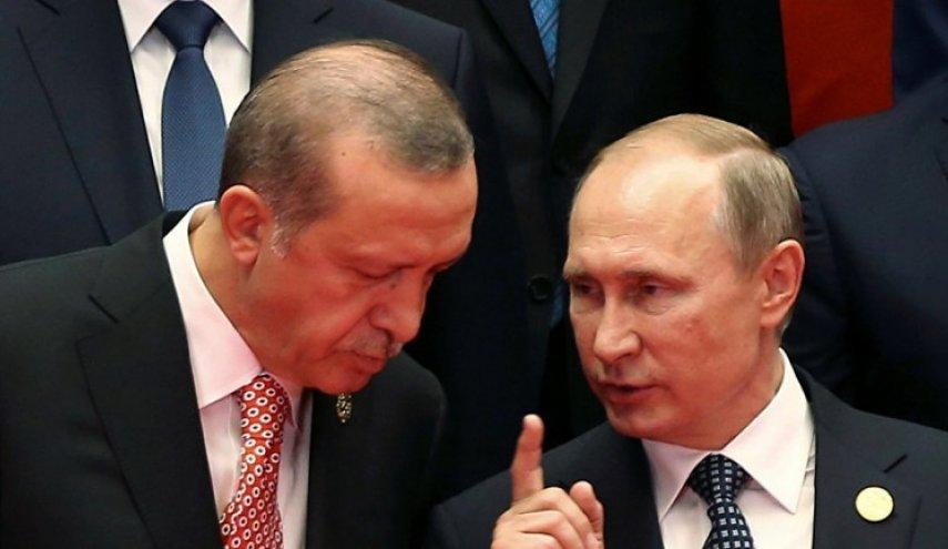اتصال هاتفي بين بوتين واردوغان.. والخارجية الروسية ترد على خطاب اردوغان