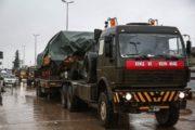 الجيش التركي ينشأ 3 نقاط جديدة بريف ادلب.. ويرسل رتل عسكري جديد يضم 30 آلية نحو الاراضي السورية