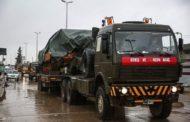 الجيش التركي يرسل مزيدا من التعزيزات وينشأ نقاط عسكرية جديدة بادلب