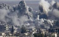 الطيران الروسي والسوري يقصف سرمين وسراقب.. والقصف التركي يتسبب بمقتل 48 جندي سوري و 14 عنصرا من حز الله اللبناني