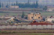 سلاح الطيران السوري يقصف مطار تفتناز بعيد انشاء نقطة عسكرية تركية فيه