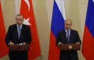 اردوغان وبوتين يوقعان بروتوكولا بشأن ادلب ويتفقان على وقف لإطلاق النار
