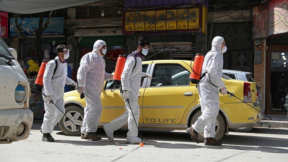 الصحة السورية تعلن عن خمس إصابات بفيروس كورونا.. والداخلية توقف 153 شخصا مخالفا لقرار فرض حظر التجول