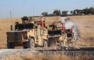 الجيش التركي يسير دوريات على الطريق