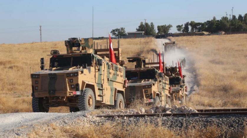 إدلب.. القوات التركية تسيير دورية منفردة على الطريق الدولي