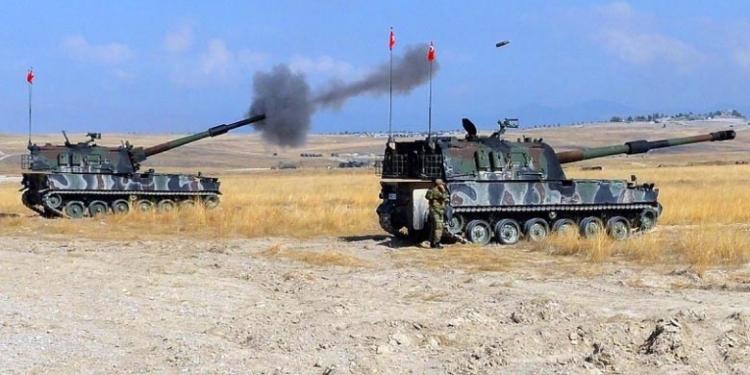 القوات التركية تقصف مواقع للقوات الحكومية بجبل الزاوية