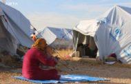 اندلاع حريق بمخيم في شمال شرق سوريا يودي بحياة 4 اطفال من نازحي رأس العين
