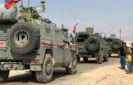 دورية روسية تمنع لأول مرة دورية امريكية من دخول مدينة القامشلي