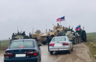 عراك بالأيدي بين عناصر دورية أمريكية وروسية قرب بلدة القحطانية شمال شرق سورية
