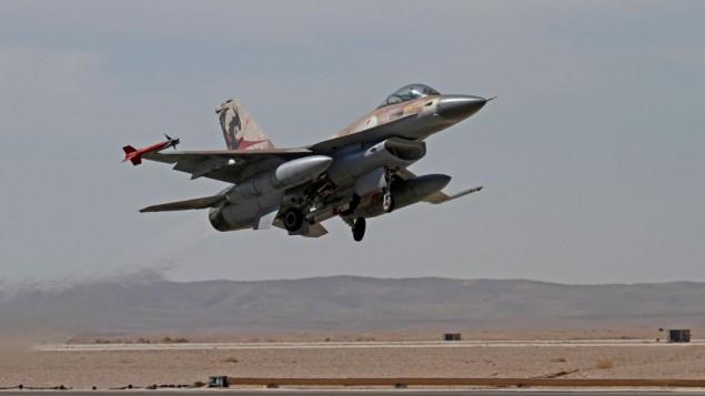 المقاتلات الإسرائيلية تقصف مواقع للقوات الإيرانية وفصائل موالية للقوات الحكومية بريف دمشق