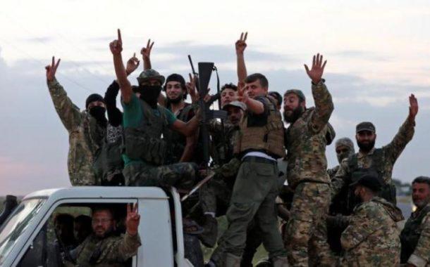 المرصد السوري يتهم الحكومة التركي بإرسال 400 مقاتل من الفصائل السورية الى ليبيا.. ويتحدث عن اكثر من 11 ألف مقاتل نقلوا الى ليبيا