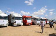 الصحة العالمية ترسل 85 طنا من المستلزمات الطبية إلى الحسكة قادمة من دمشق