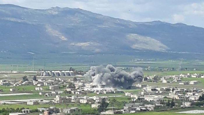 تحرير الشام تنتشر في مواقع كانت تابع لحراس الدين في سهل الغاب وريف حماة