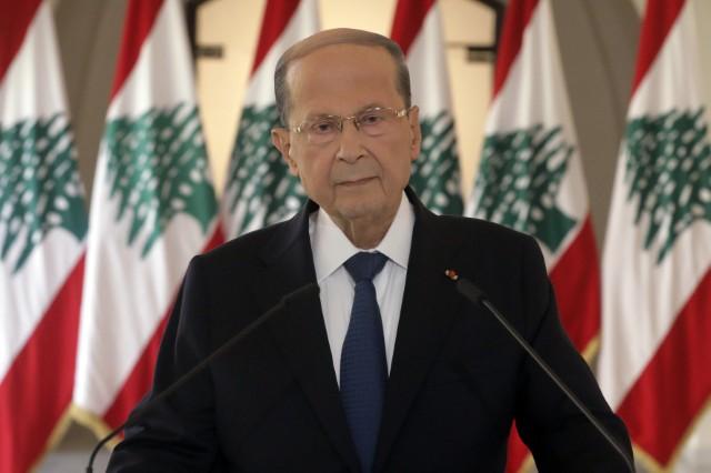 عون: نأمل أن تتجاوب الدول المعنية مع اقرار خطة عودة اللاجئين السوريين