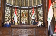 مجلس الشعب السوري يعقد جلسته الافتتاحية الأولى