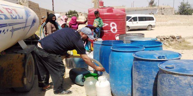اليونيسف: الملايين محرومون من المياه.. في سوريا يحتاج حوالي 12.2 مليون شخص إلى الوصول إلى المياه والصرف الصحي