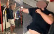 بعد استفزازه لـ 3 من ذوي البشرة السوداء.. لكمة تسقط رجل عنصري بريطاني بمترو لندن