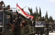 القوات الحكومية ترسل تعزيزات إلى بلدة عين عيسى شمال شرق سوريا