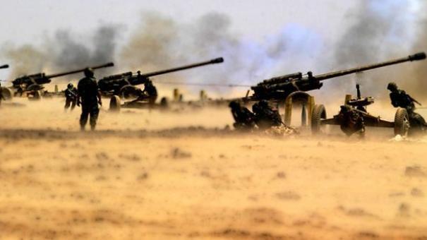 القوات الحكومية تقصف حبل الاكراد.. وغرفة عمليات الفتح المبين تقصف سراقب