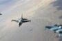 البادية السورية.. مقتل نحو 19 عنصراً من داعش.. والمقاتلات الروسية تشن أكثر من 100 غارة على مواقعه