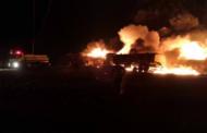 مقتل 6 أشخاص وإصابة 17 آخر في الهجوم الذي استهدف سوق المحروقات في جرابلس.. التحالف الدولي ينفي علاقاته بالهجوم