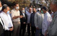 الأسد يتفقد القرى التي تعرضت للحرائق بريف اللاذقية.. ويقول أن الدولة ستتحمل العبء الأكبر لدعم العائلات