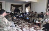 وفد من التحالف الدولي يلتقي بقيادات مجلس دير الزور العسكري في حقل العمر