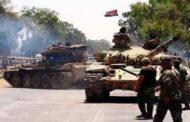 درعا.. القوات الحكومية تحشد قواتها في محيط الكرك الشرقي وتطالب بتسليم 6 مسلحين و55 قطعة سلاح
