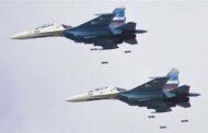 المقاتلات الروسية تنفذ  خلال الـ24 ساعة أكثر من 60 غارة جوية على مواقع داعش في البادية السورية