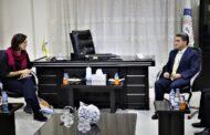 برلمانية أوروبية تلتقي في القامشلي بمسؤولين من الإدارة الذاتية