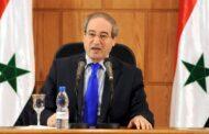 عقوبات أوروبية على وزير الخارجية السوري فيصل المقداد