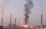 بانياس.. حريق كبير في وحدة تحسين البنزين بمصفاة بانياس يوقفها عن العمل.. وإعادة العمل بالوحدة يستغرق أيام