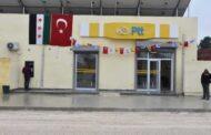 افتتاح مؤسسة البريد التركية في مدينة تل أبيض شمال سوريا