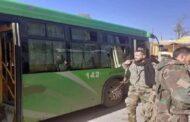 مقتل 3 عسكريين وجرح 10 بهجوم استهدف حافلة على طريق دير الزور تدمر